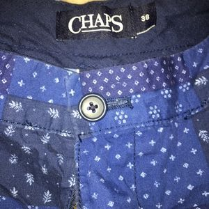 Chaps Navy Blue Shorts (L-XL size 38 waist)